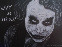The joker - Why so serious? by Aintza-K