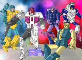 Transformers - Terrorcons by JP-V