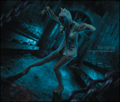 + The Nurse + Silent Hill + by OmarRodriguezV