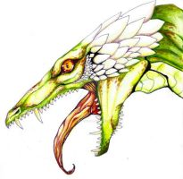 alligator dragon by Overlord-Jinral