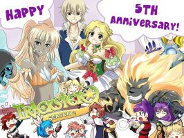 trickster online 5th anniversary entry by AyaYanagisawa