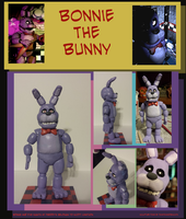 Bonnie the Bunny Figurine by TeamTeaandBiscuits