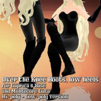 Overknee Boots for Caprica 6 / Montecore Luka by Riveda1972