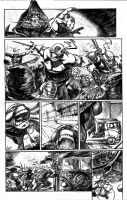 tmnt page samples 3 by FrancescoIaquinta