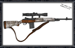 The Frost Tear -Maxwell's M14 by Milosh--Andrich