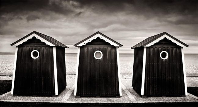 Some shoreline sheds by marcschmidtmayer