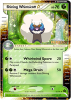 Shining Whimsicott by aschefield101