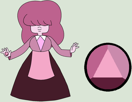 Mystery Gem Adopt - Rose Sapphire by The-Panda-Lover