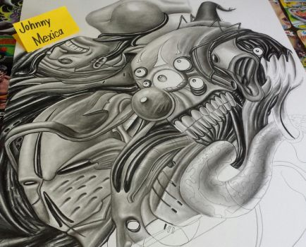 My art lessons are on Youtube: DimensionZombie by JohnnyMexica