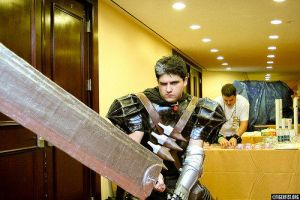 Cosplayer with Guts by sonicm15