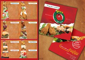 Spicy Restaurant Menu by ramma7