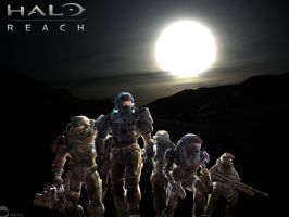 halo reach wallpaper by shedg