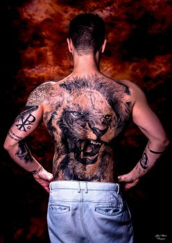 Tattoed back by rockmylife
