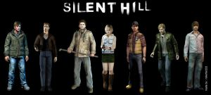 -THE SILENT HILL GANG- by rollerfan222