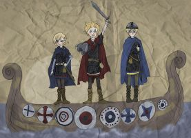 Shota Vikings by Sildesalaten