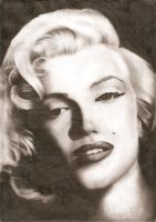Marilyn Monroe II by Stanbos