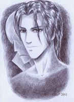 Aizen and a Shadow by Anshell