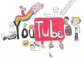 YouTube by Jellyfishdoodler