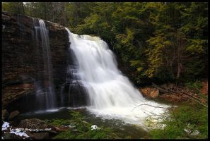 Muddy Creek Falls by TRBPhotographyLLC