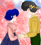 Ryoga and Akane - Confession.. by AngieSan