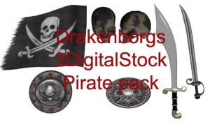 Pirate pack by 3DigitalStock