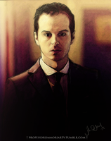 jim moriarty by oldgreegg