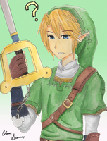 Link the Keyblade Master by MissCinnabun
