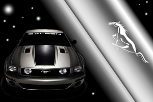 Ford Mustang Saleen Wallpaper by SlaveWolfy