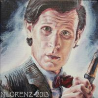The Eleventh Doctor: 50th Anniversary by napalmnacey
