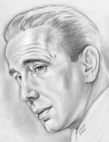 Humphrey DeForest Bogart by gregchapin