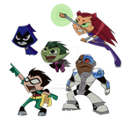 Teen Titans GO~! by Ask-Bud