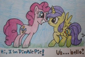 Request: Pinkie Pie and Color Clouds!!! by TopazBeats
