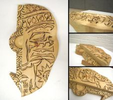 Tribal Mask by Rhainster