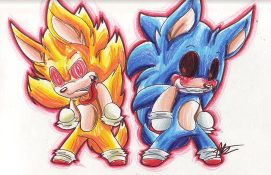 fleetway sonic vs sonic exe - photo #35