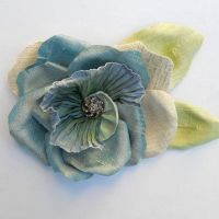 Blue Rose by tracyholcomb