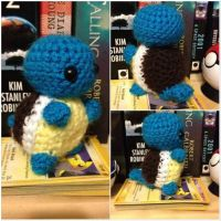 Tiny Squirtle Pokemon Crochet by Mr-Nova
