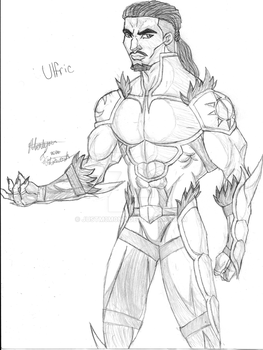 Ulfric Unmasked by JustM3M0nt