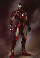 I AM  IRON MAN 2 by Haseo1970