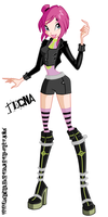 Tecna in the strange outfit by MagiaBelievix