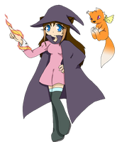 Witchy Chaos (Ores academy teacher) by Chaos55t
