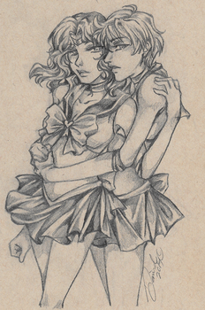 Sailor Cousins...Of Course by AssClownFish