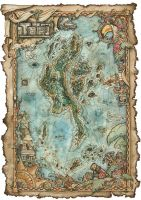 Map of Tooj by FrancescaBaerald