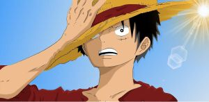 Badass Luffy by TeenX34