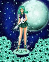 Sailor Neptune by HaruShadows