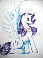 Alicorn Rarity by Isabellelhunna