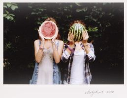 Melon twins by Moty-rue