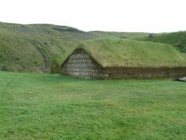 Viking house 1 by frozt-stock