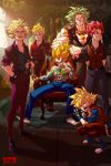 Dragonball Mafia by raging-akujiki