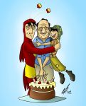 Cumpleanos 85 Chespirito by Kryptoniano