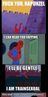 oh noes spidey! by Anjajay1